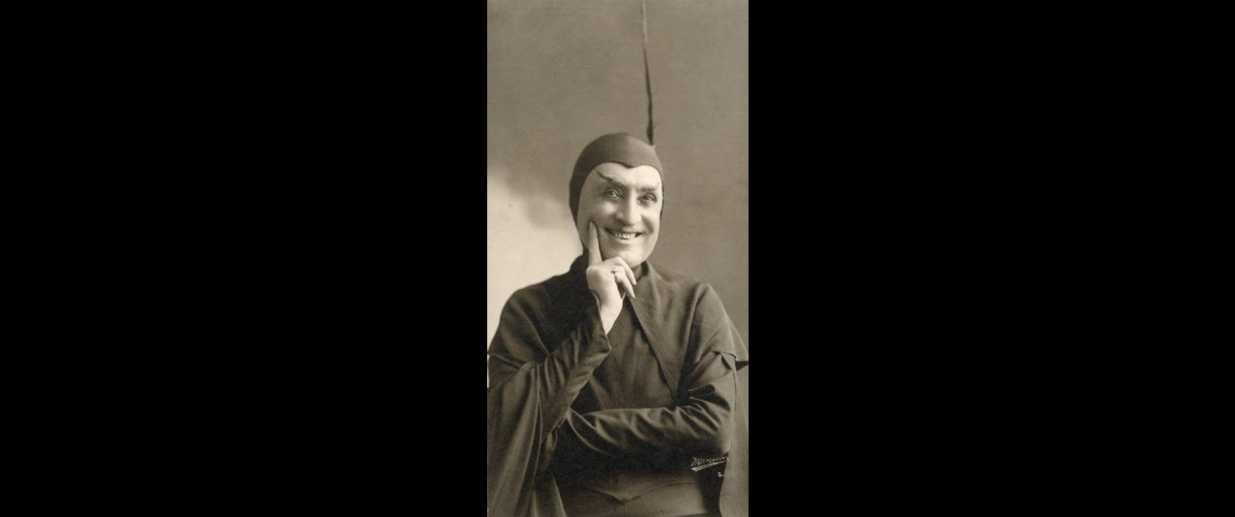Lewis Morrison as Mephistopheles in Goethe's Faust (1905)