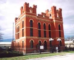 This jail was built in 1910 and has been home to the museum since 1974.