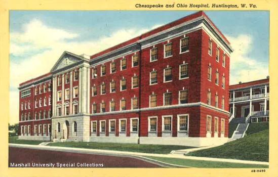 C&O Hospital Postcard