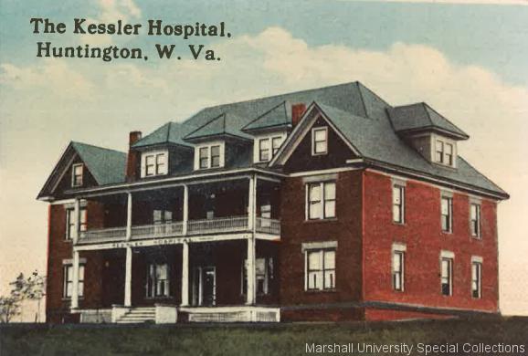 Kessler Hospital, circa 1914