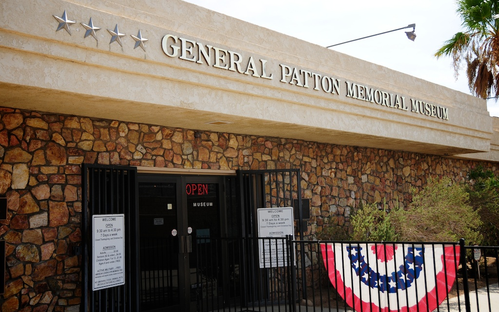 General George S. Patton Memorial Museum Front Entrance