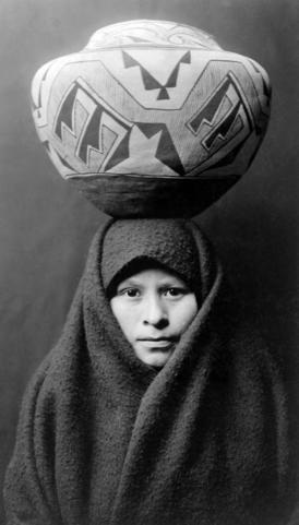 A Zuni woman