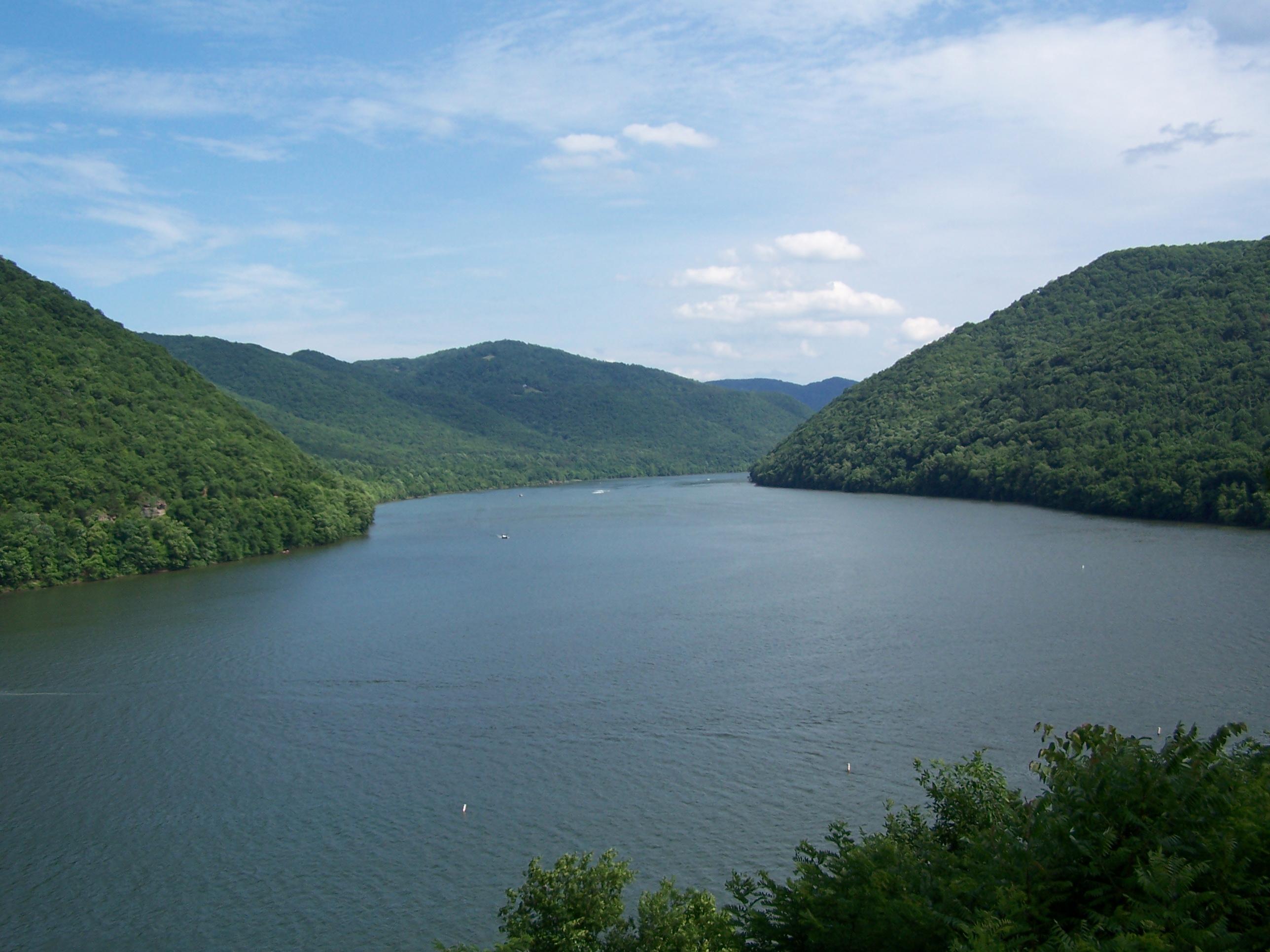 Bluestone Lake Scenic Overlook