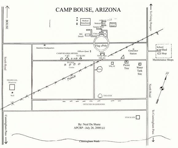 Camp Bouse Map