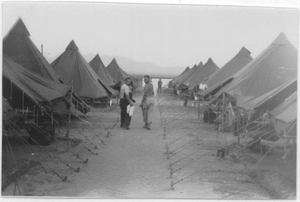 Tents in Camp Bouse