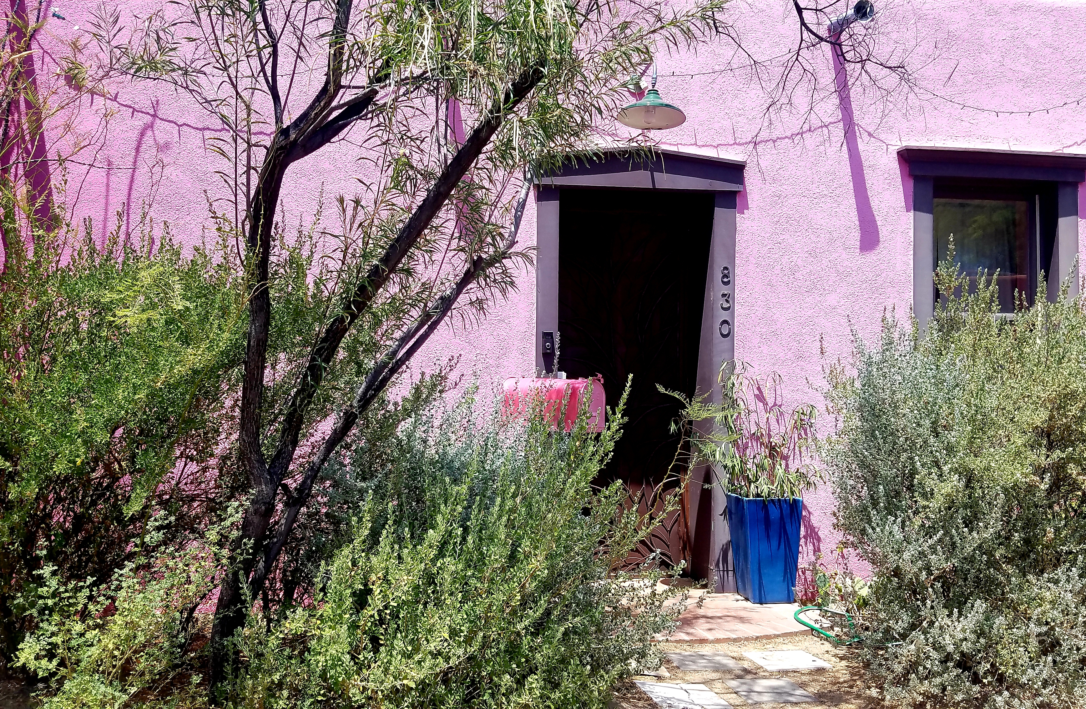 Colorful Adobe in Barrio Viejo