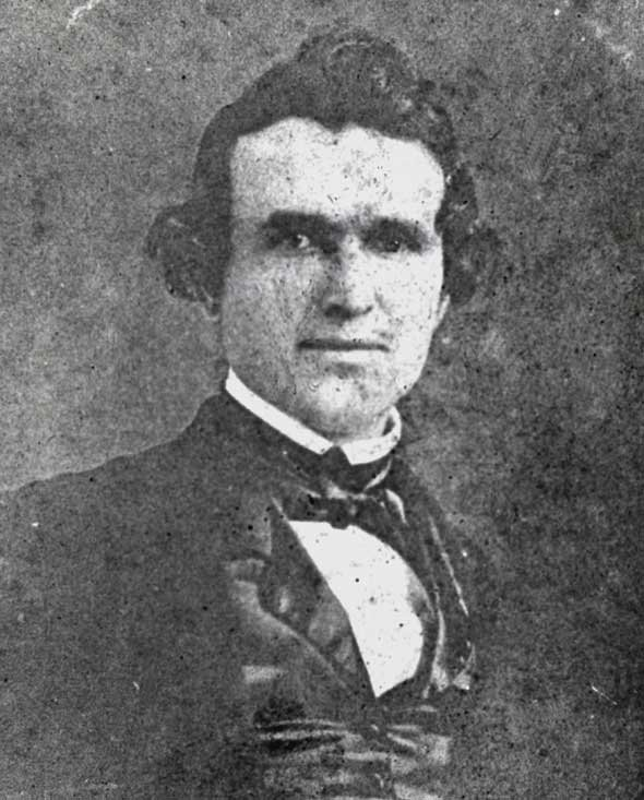 George Caleb Bingham (1811-1879). Photo: State Historical Society of Missouri