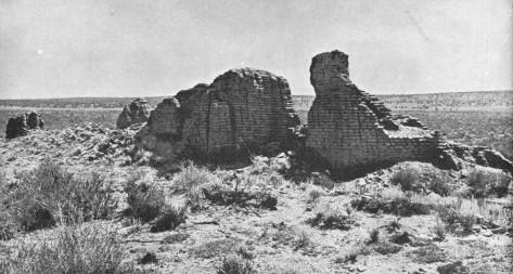 Ruins of Mission La Purísima Concepción de Hawikuh, 1886