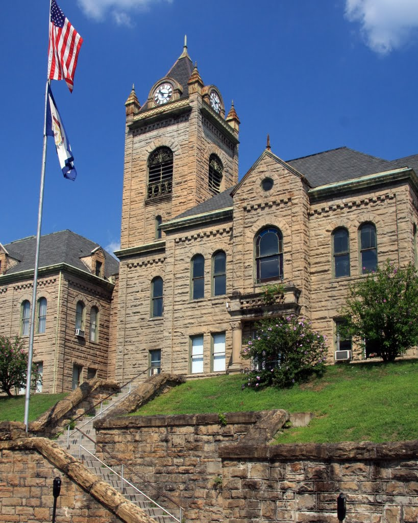 The McDowell County Courthouse