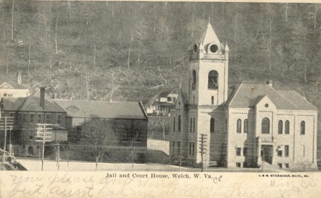 Postcard of the Courthouse