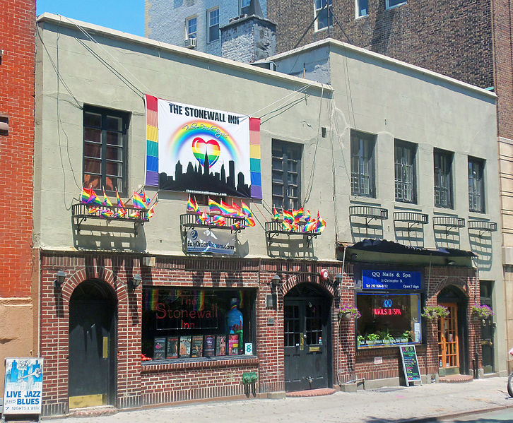 Exterior of the Stonewall Inn today.