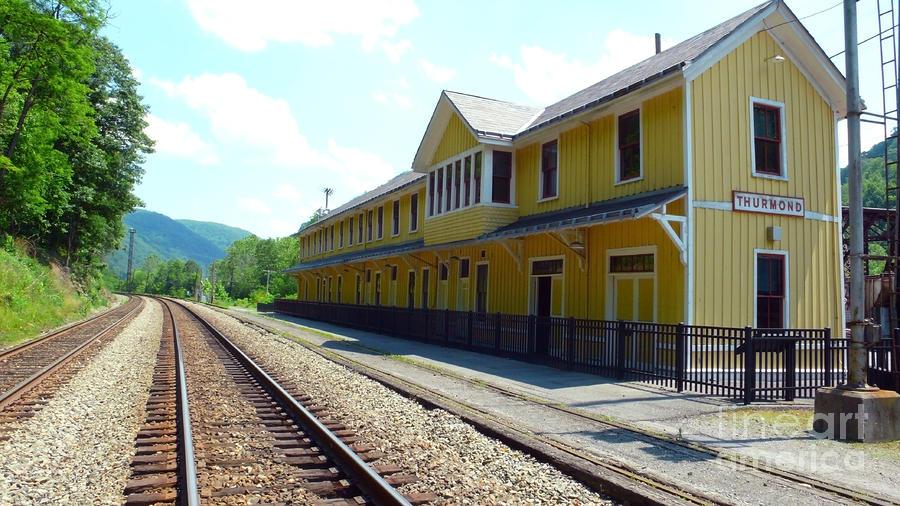 Thurmond Depot reconstructed.