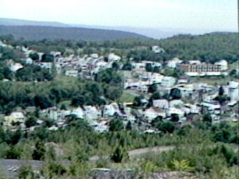 Centralia in the 1960s, with a population of 1100.