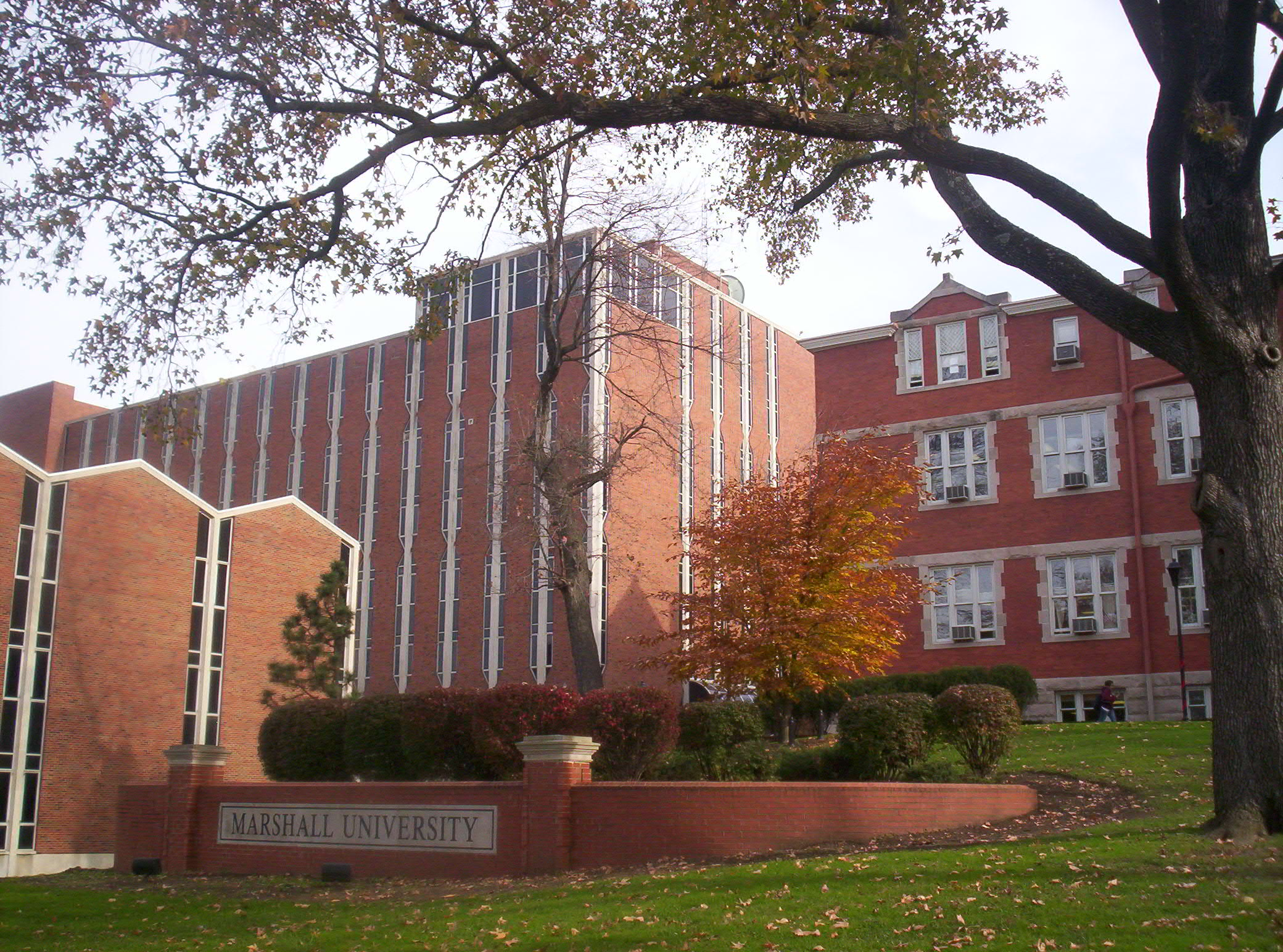 The Smith Hall Academic Complex consists of Stewart Harold Smith Hall, Evelyn Hollberg Smith Music Hall, and the Communications Building.