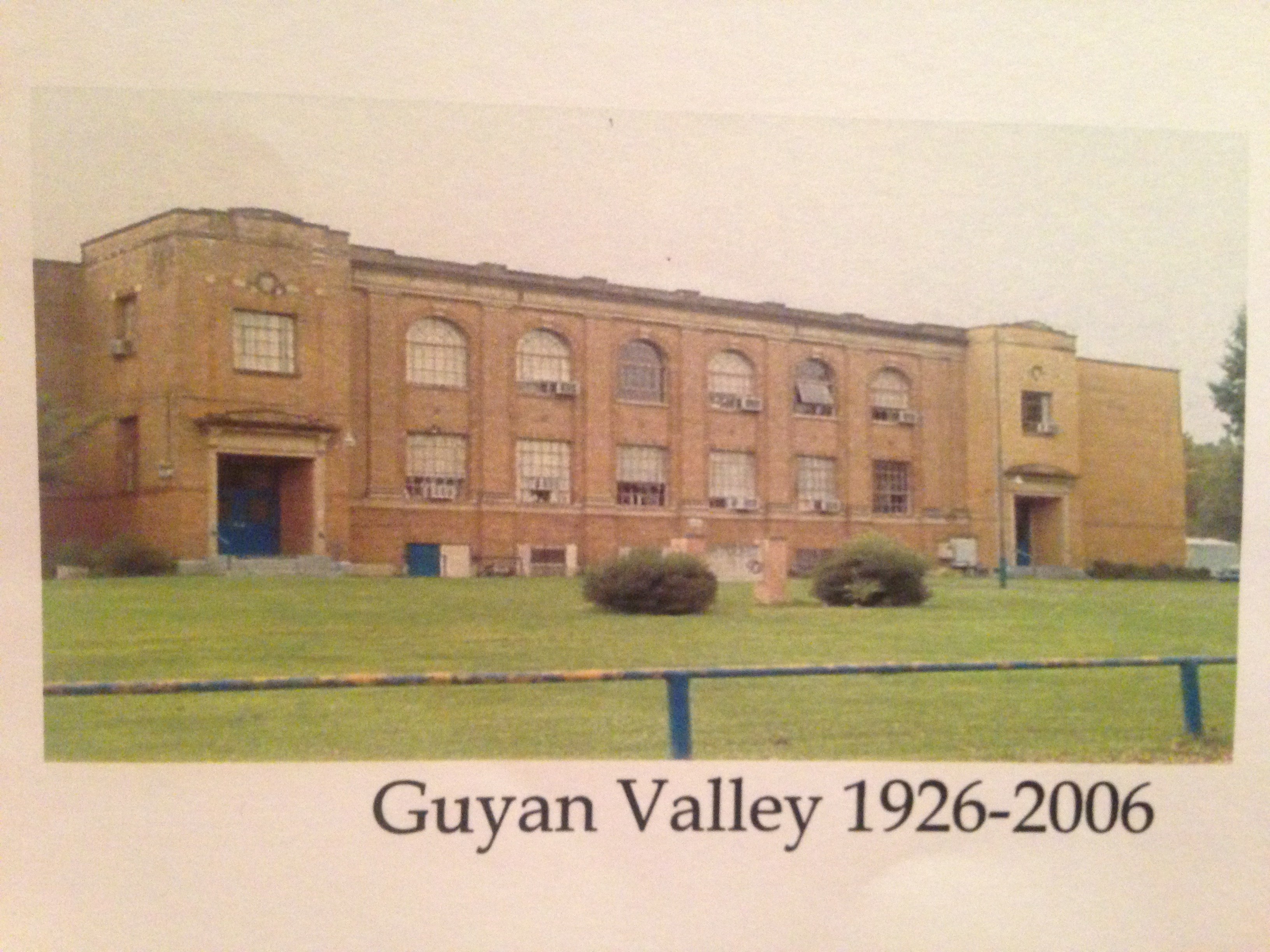 Present day photo of Guyan Valley Middle School