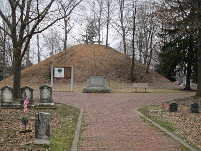 The Mound Cemetery.