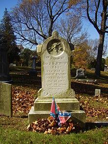 Gravesite of General Albert G. Jenkins