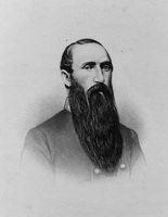 Lawyer, slave owner, Confederate general, and member of both the U.S. and Confederate Congresses, Albert G. Jenkins was one of Cabell County's most prominent citizens. Image obtained from e-WV.