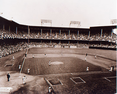 Ebbets Field hosted its first game on April 9, 1913 with an attendance capacity of up to 18,000 that grew to nearly 35,000 after several expansions.