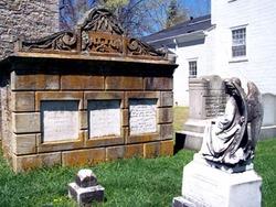 Tomb marker General Alexander Reynolds