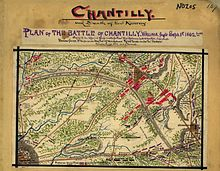 A Map of the Battle of Chantilly