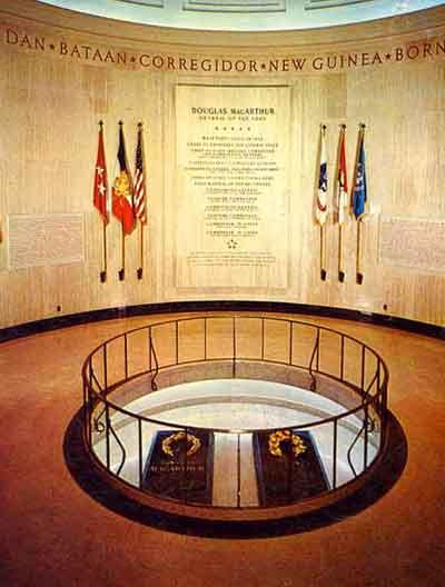Rotunda at MacArthur Memorial
