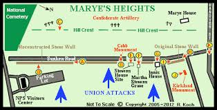 An Example of the Map of Marye's Heights