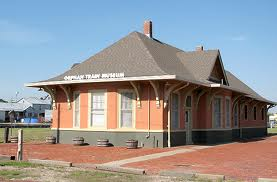 The Orphan Train Museum is inside a historic railroad depot