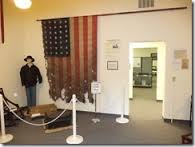 One of the exhibits inside the museum