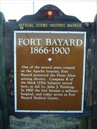 The fort was garrisoned by Company B of the 25th United States Colored Infantry.