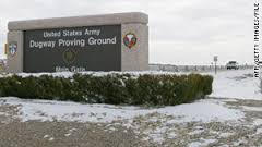Entrance of Dugway Proving Ground