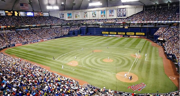Minnesota Twins Field in the Metrodome