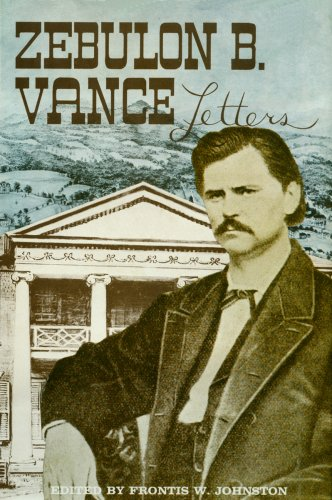 The Papers of Zebulon Baird Vance: Volume I, 1843-1862-Click the link below for more info about this book