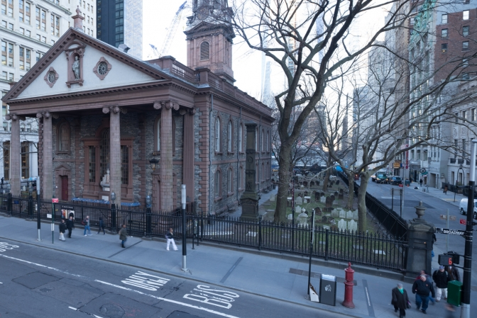 St. Paul's Chapel is the oldest in the city and welcomes over one million tourists each year.