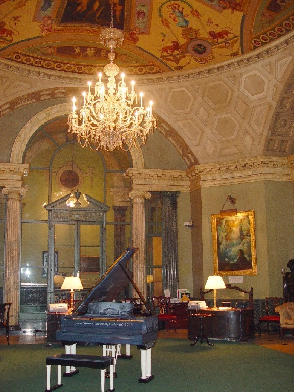 The rotunda at Steinway Hall was a center of New York's cultural scene for over eight decades and was designed by the same firm that created Grand Central