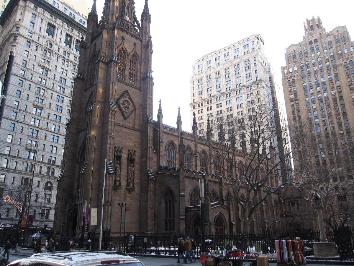 The current Trinity Church