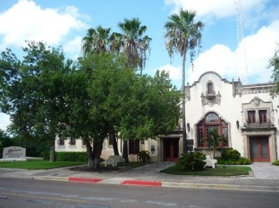 Built in 1928, this lovely Spanish style former depot is today the Brownsville Historical Museum.