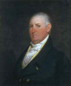 Portrait of Isaac Shelby