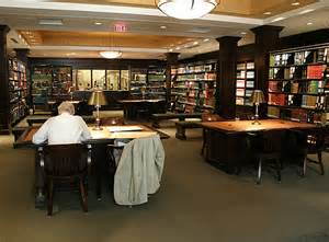 The reading room offers a quiet place to study local history and genealogy