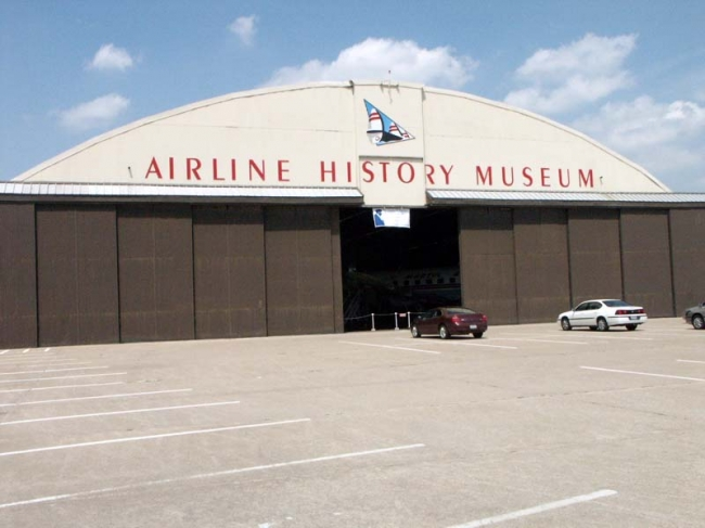 The museum is located in hanger nine of the downtown airport.