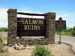 Entrance to Salmon Ruins