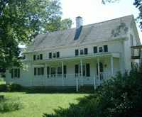 Passerdyke Cottage is home to the Allen Historical Society