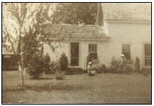 An early photo of Passerdyke Cottage