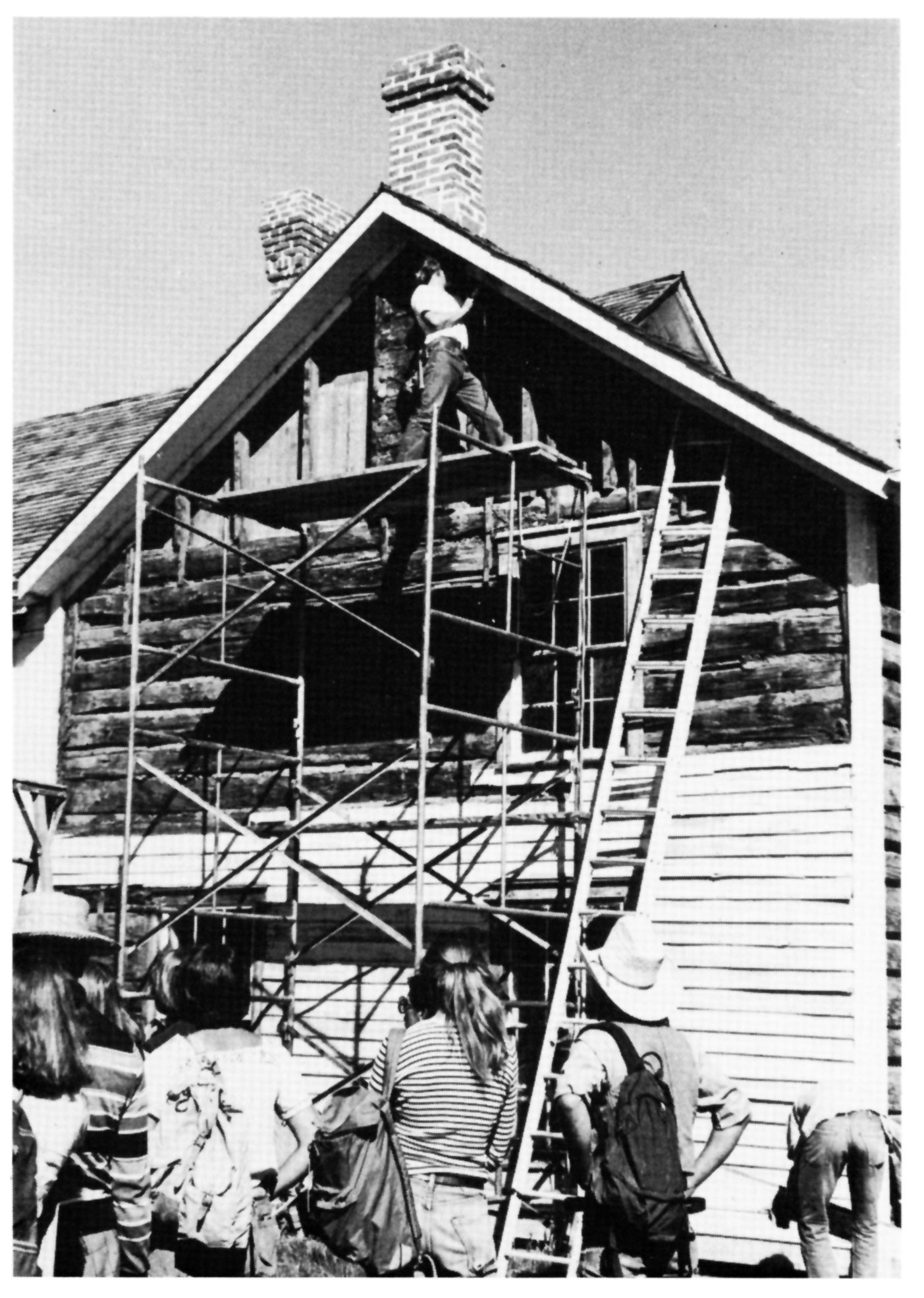 Four Mile House Restoration Work