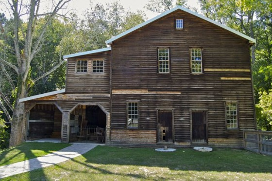 Built between 1868-1869, the mill was used until 1996.