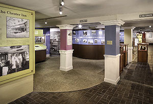 Exhibits center on the region's early history, with special exhibits about the attempt to create the State of Franklinm a diorama of the town as it appeared in the 1850s, and the experience of eastern Tennessee in the Civil War.