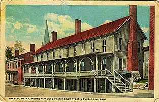 Picture of the Chester Inn Museum, during the days of US President Andrew Jackson.