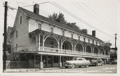 A picture of the Chester Inn taken some time in the 1940s.