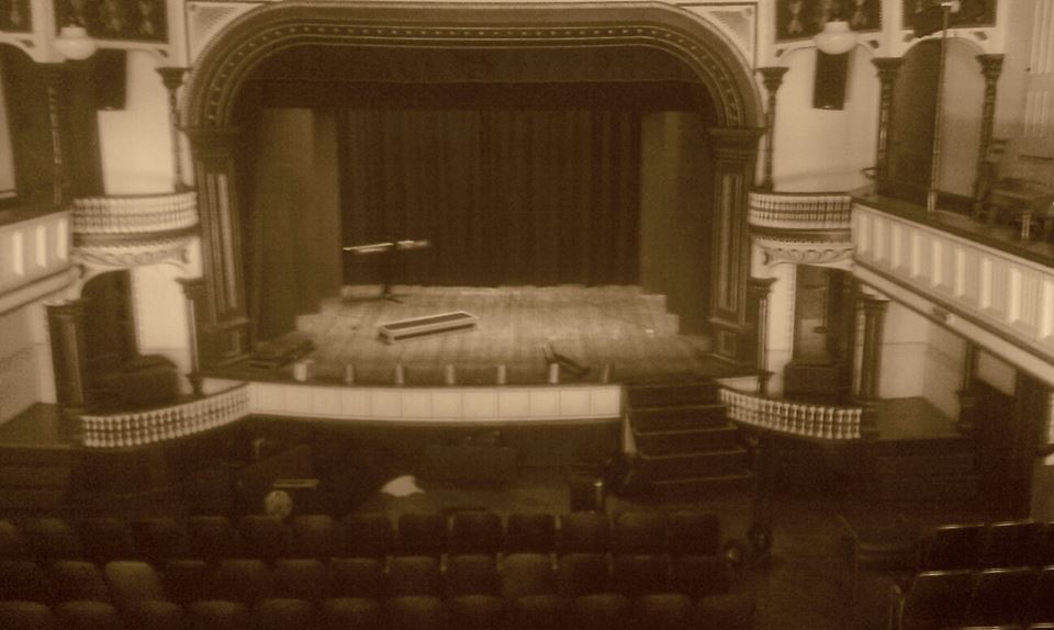 Historic main stage