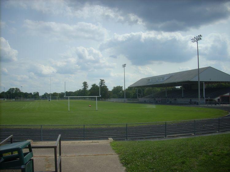 Peoria Stadium current photo.